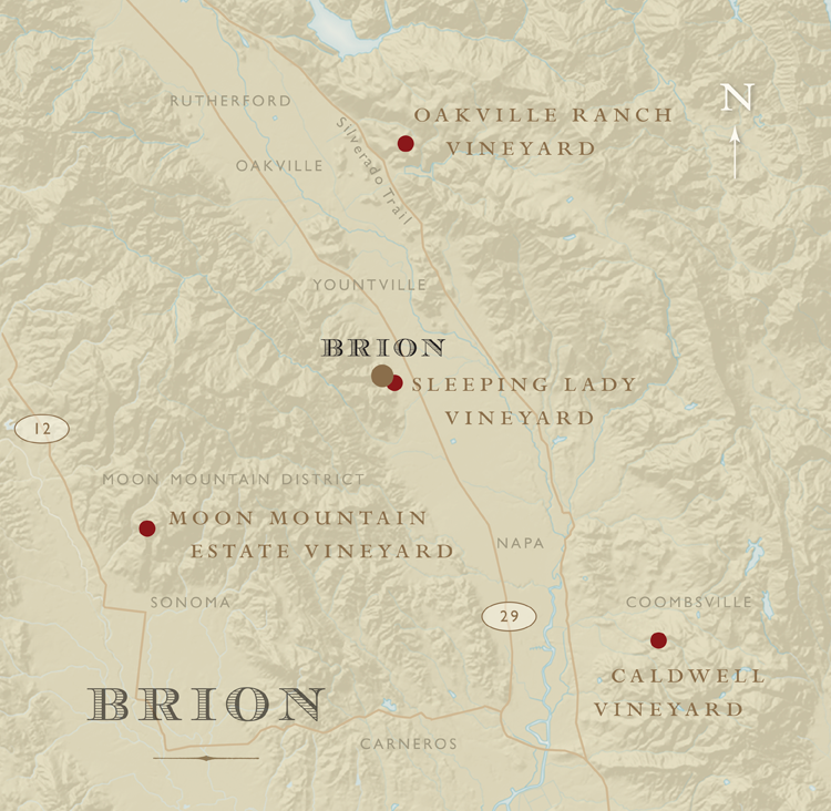 BRION Vineyard Map